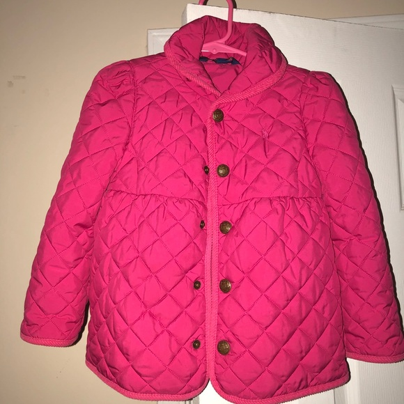73fab412f Girls Polo Ralph Lauren Quilted Barn Jacket